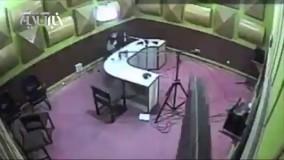 حمله قلبی گوینده خبر رادیو گلستان حین اجرای زنده