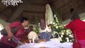 دعای جمعی مردم گوام از ترس حمله کره شمالی