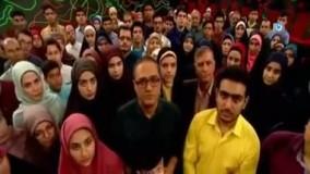"""رامبد جوان در خندوانه خطاب به """"شهید حججی"""":محسن جان اضطراب چشمان قاتل و آرامش نگاه تو مرز روشن بین حق و باطل بود"""