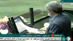 موافقان و مخالفان وزیر پیشنهادی اطلاعات و دفاعیات علوی