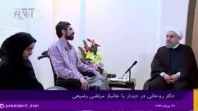 رییس جمهور: شهید حججی، نماد حضور در صحنه و دفاع از اسلام