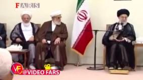 رهبر انقلاب: اینترنت و کانالهای اجتماعی شهید حججی را هم احاطه کرده بود اما این اینجوری از آب درآمد