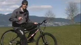 آموزش حرکات نمایشی با دوچرخه