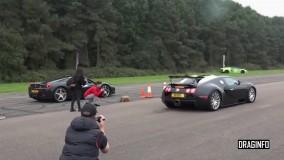 Bugatti Veyron Vs Ferrari458 - Italia DragRace