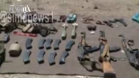 به هلاکت رسیدن تروریستها توسط سپاه
