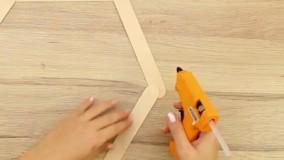 نجاری - ساخت باکس دیواری خلاقانه