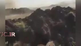 فیلم رشادت آرپیجی زن عراقی در انهدام خودروی انتحاری داعش