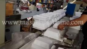 دستگاه بسته بندی ظرف یکبار مصرف| 03135723006