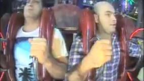دوتا ایرانی رفتن شهربازی اونورآب درحدسکته میترسن خیلی باحاله ????????  ????