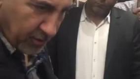 مترو سواری نجفی (شهردار تهران)