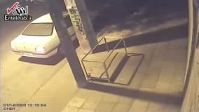 فیلم/ تصادف ساختگی برای سرقت خودرو