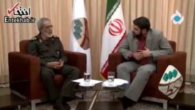 فیلم/ سردار نجات: ارتش و سپاه هیچوقت با هم اختلاف نداشتند