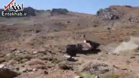 فیلم/ شلیک راکت در رزمایش سپاه در غرب کشور