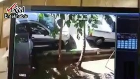 فیلم/ سرقت از خودروهای پارک شده در اطراف بیمارستان سینا