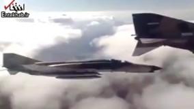 فیلم/ پرواز جنگنده های ارتش به سمت شمال غرب کشور