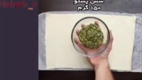 آموزش طرز تهیه نان فانتزی پنیری