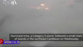 """آخرین تصاویر از هیولایی با نام طوفان """"ایرما"""""""