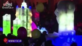 جشن آغاز سال نو میلادی در کره شمالی چگونه برگزار شد؟
