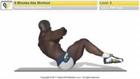 حرکات ورزشی شکم-Abs-دانلود ویدیو تناسب اندام 8