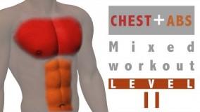تمرین ورزشی ترکیبی شکم و سینه2