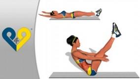 حرکات ورزشی شکم-Abs-دانلود ویدیو تناسب اندام 10