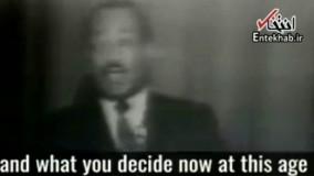 سخنرانی مارتین لوتر کینگ برای دانش آموزان در سال ۱۹۶۷