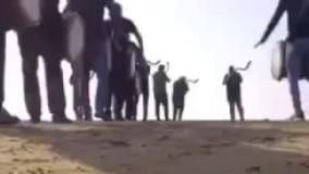عزاداری سنتی بوشهریها در وداع با جانباختگان نفتکش سانچی