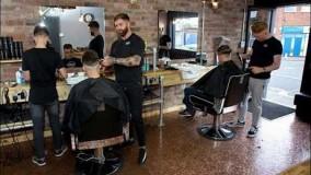 ایده برای دکوراسیون آرایشگاه مردانه - دکوراسیون 2018 - دیزاین آرایشگاه بخش 12