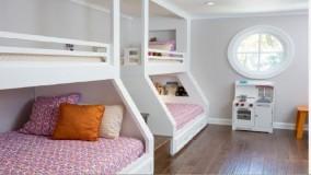 دکوراسیون اتاق خواب دخترانه جوان - ایده های طراحی داخلی 2018 - بخش 23