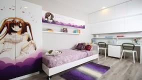 دکوراسیون اتاق خواب دخترانه جوان - ایده های طراحی داخلی 2018 - بخش 20