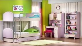 دکوراسیون اتاق خواب دخترانه جوان - ایده های طراحی داخلی 2018 - بخش 24