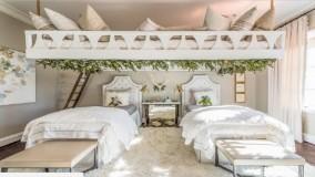 دکوراسیون اتاق خواب دخترانه جوان - ایده های طراحی داخلی 2018 - بخش 9
