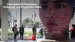 طراحی سه بعدی غول پیکر از صورت شما