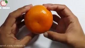 شارژ گوشی با پرتقال