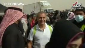 فیلم/ تزریق بوتاکس به شتر در مسابقه زیباترین شتر عربستان!