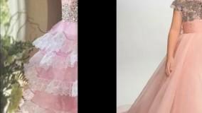 لباس مجلسی دخترانه 2017