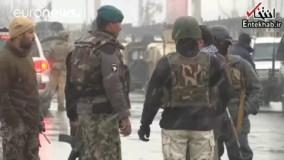 فیلم/ تیراندازی و انفجار در دانشگاه نظامی کابل؛ داعش مسئولیت حمله را برعهده گرفت