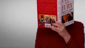 فیلم/ حضور هیلاری در مراسم «گِرَمی» ۲۰۱۸ با کتاب «آتش و خشم»!
