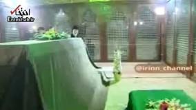 فیلم/ حضور رهبر معظم انقلاب در مرقد امام خمینی (ره)