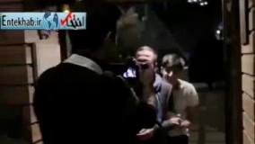 فیلم/ غافلگیری سردار آزمون توسط بهاره افشاری و جواد رضویان