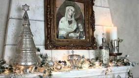 دکوراسون کریسمس - سفید و نقره ای - 2019