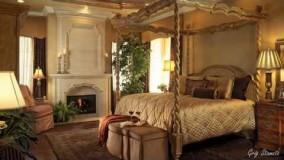 با دکوراسیون اتاق خواب کلاسیک مدیترانه ای آشنا شوید