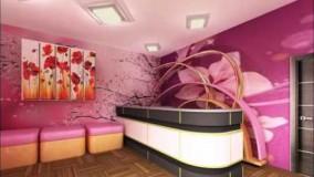 دکوراسیون آرایشگاه زنانه-دیزاین سالن آرایشگاه زنانه -35