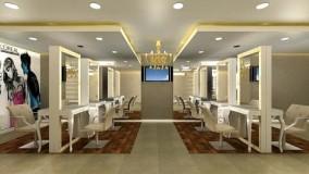 دکوراسیون آرایشگاه زنانه-دیزاین سالن آرایشگاه زنانه - 5