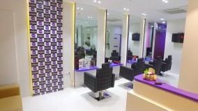دکوراسیون آرایشگاه زنانه-دیزاین سالن آرایشگاه زنانه - 1