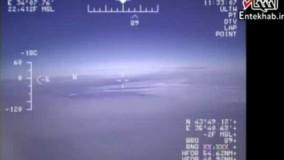 فیلم/ مانور جنگنده روسی مقابل جنگنده آمریکایی