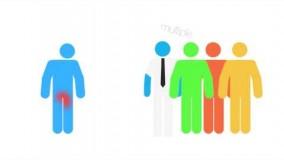 کارتون درمان قطعی زگیل تناسلی در مردان