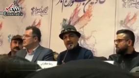 فیلم/ صحبت ها و شوخی های رضا عطاران، هومن سیدی و مهران احمدی درباره تکراری شدن پرسوناژ رضا عطاران در سینما