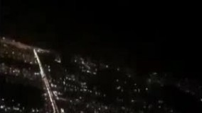 فیلم/ لیزر زدن به چشم خلبان هنگام فرود!