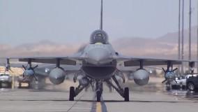 دانلود ویدیو F-16 Fighter Jets Preflight + Takeoff/Landing